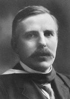Rutherford preparado para recoger el Nobel.