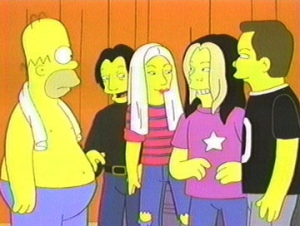 Hommer se fue de gira con los Smashing Pumpkins, ¿lo recordáis?