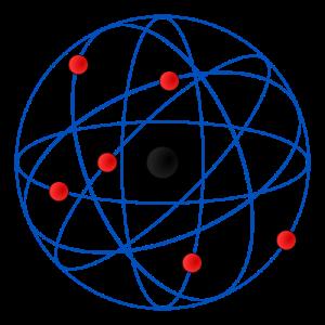 En cambio el modelo atómico de Rutherford era una especie de sistema planetario, en el que la fuerza de la gravedad era sustituido por la atracción entre cargas eléctricas.