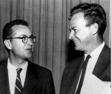 Gell-Mann y Feynman, sus piques eran legendarios.